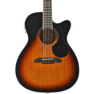 Alvarez AF660ESB OM/Folk Acoustic Electric Guitar by Alvarez