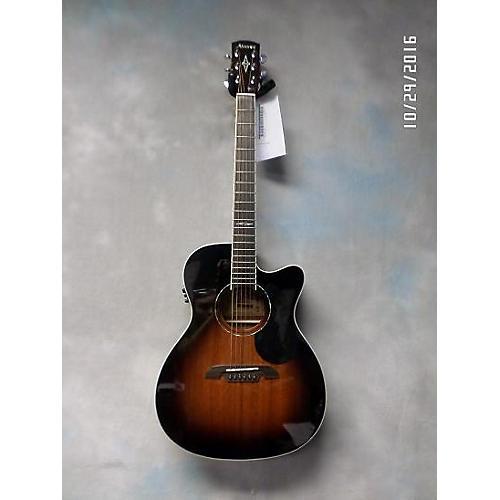 Alvarez AF660ESB OM/Folk Acoustic Electric Guitar