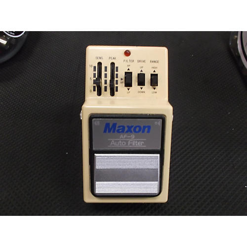 Maxon AF9 Auto Filter Dynamics Effect Pedal-thumbnail