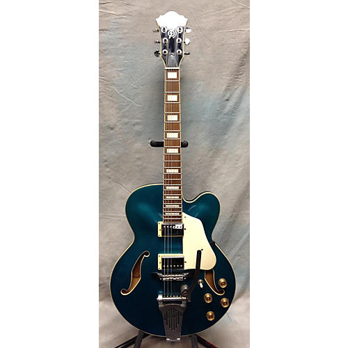Ibanez AFS75T Artcore Teal Hollow Body Electric Guitar
