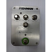 Fishman AFX ACOUSTIC DELAY Effect Pedal