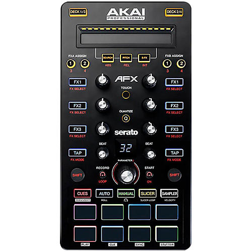 Akai Professional AFX Controller for Advanced Serato DJ Performance-thumbnail