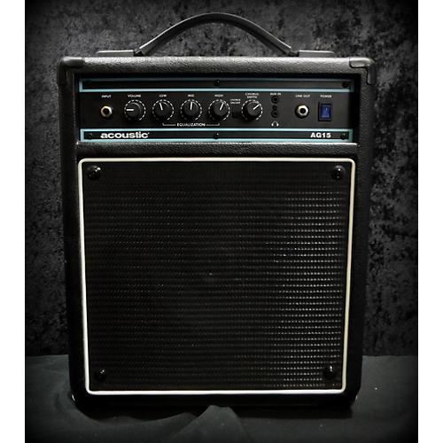 used acoustic ag15 15w 1x8 acoustic guitar combo amp guitar center. Black Bedroom Furniture Sets. Home Design Ideas