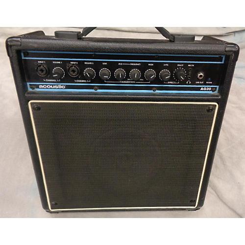 Acoustic AG30 30W 1X8 Acoustic Guitar Combo Amp