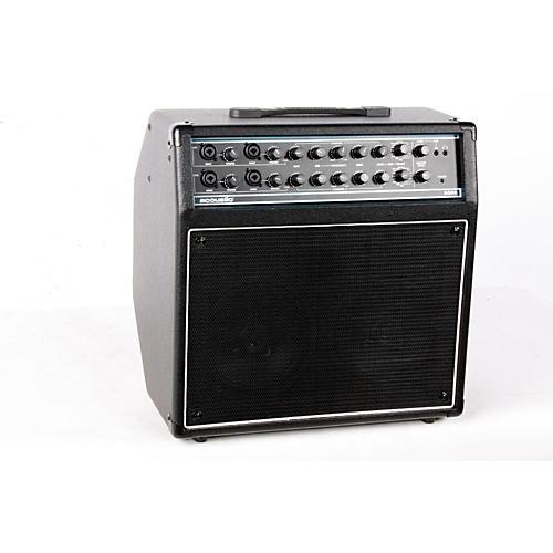 Acoustic AG60 60W 2x8 Acoustic Guitar Combo Amp Black 888365243542