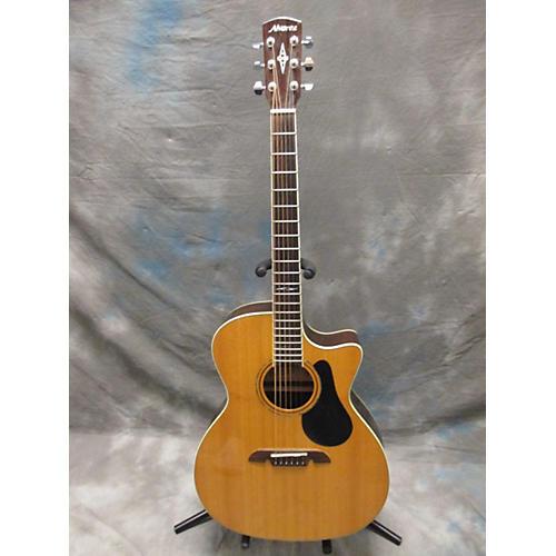 Alvarez AG710CE Grand Auditorium Acoustic Electric Guitar-thumbnail