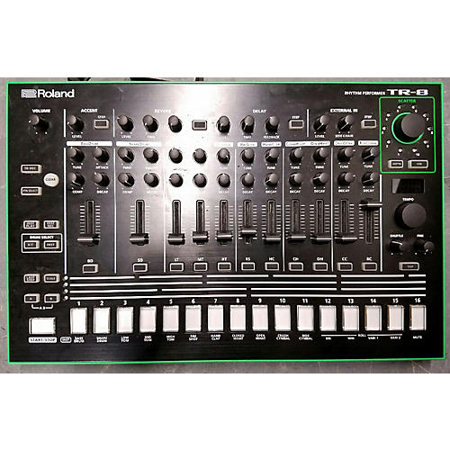 used roland aira tr 8 synthesizer guitar center. Black Bedroom Furniture Sets. Home Design Ideas