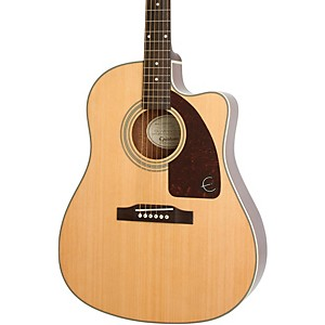 Epiphone AJ-210CE Outfit Acoustic-Electric Guitar by Epiphone