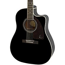 AJ-220SCE Acoustic-Electric Guitar Ebony