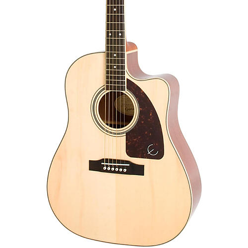 Epiphone AJ-220SCE Acoustic-Electric Guitar Natural