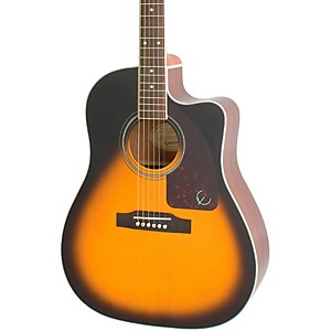 Epiphone AJ-220SCE Acoustic-Electric Guitar by Epiphone
