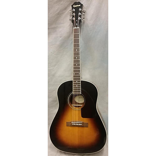 Epiphone AJ200E W/case Acoustic Electric Guitar