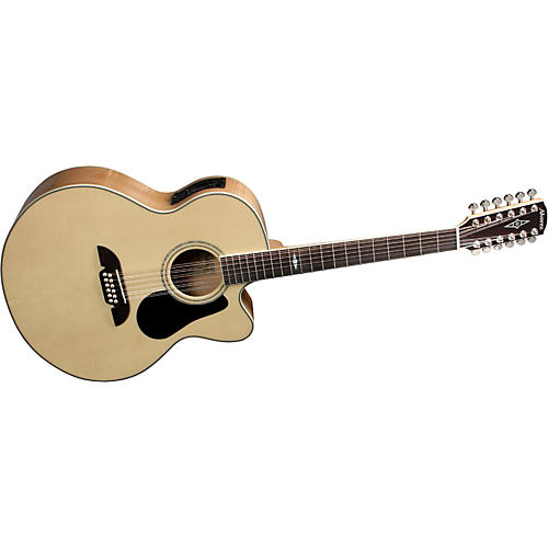 Alvarez AJ418C-12 Artist Jumbo 12-String Acoustic-Electric Guitar with System 600 Mk II