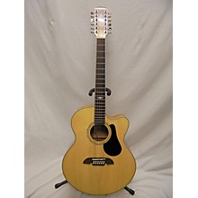 Alvarez AJ418C Jumbo 12 STRING 12 String Acoustic Electric Guitar