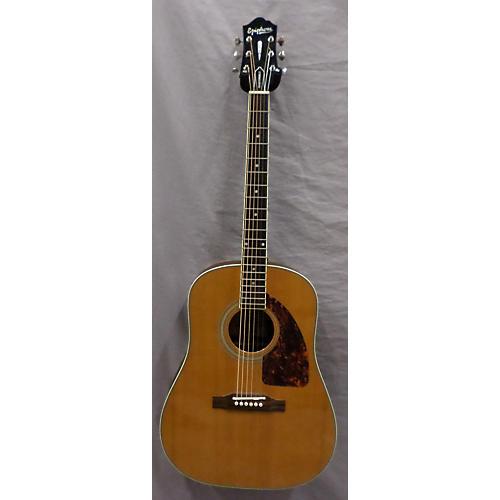 Epiphone AJ500MNA Acoustic Electric Guitar Antique Amber