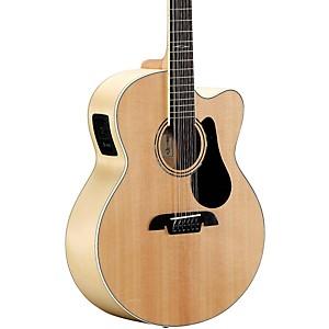Alvarez AJ80CE-12 12 String Jumbo Acoustic-Electric Guitar by Alvarez