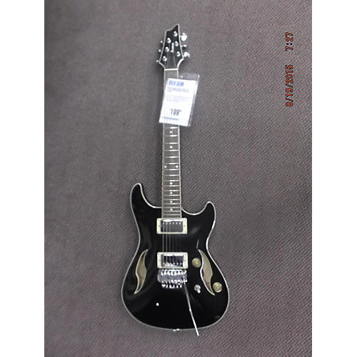 Ibanez AJD71T-BK-12-01 Black Hollow Body Electric Guitar