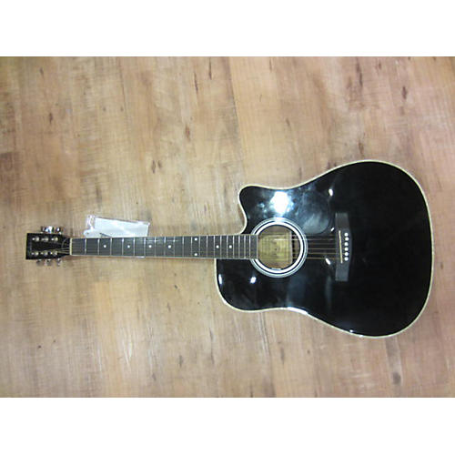 In Store Used ALC-200 Black Acoustic Electric Guitar-thumbnail