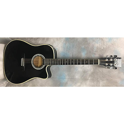 used esteban alc200 acoustic electric guitar guitar center. Black Bedroom Furniture Sets. Home Design Ideas