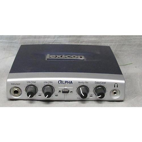 Lexicon ALPHA 2.0 Audio Interface-thumbnail