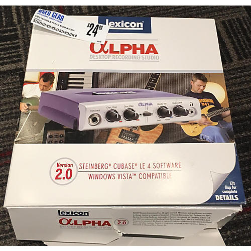 Lexicon ALPHA 2.0 Audio Interface