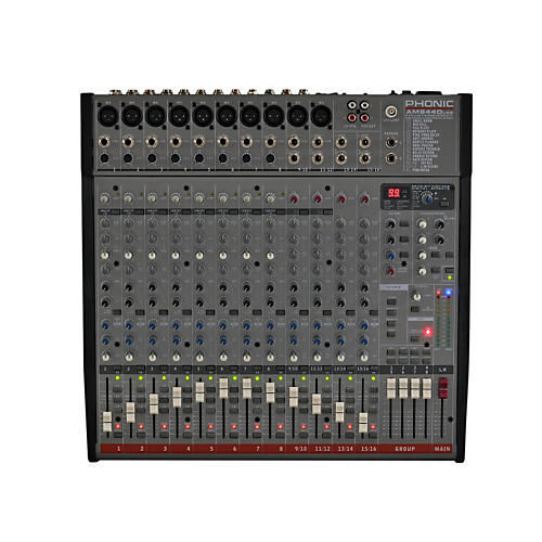 Phonic AM 844D Mixer with USB Interface