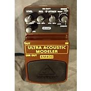 Behringer AM400 Ultra Acoustic Modeler Guitar Modeling Pedal