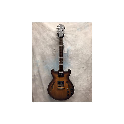 Ibanez AM73B Archtop Hollow Body Electric Guitar Tobacco Burst