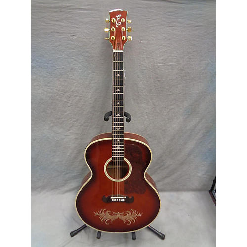 Esteban AMBER ICE Acoustic Electric Guitar-thumbnail