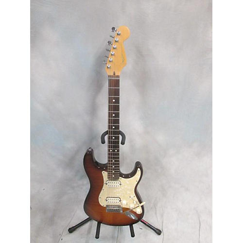 Fender AMERICANC DOUBLE FAT STRAT Solid Body Electric Guitar Tobacco Burst