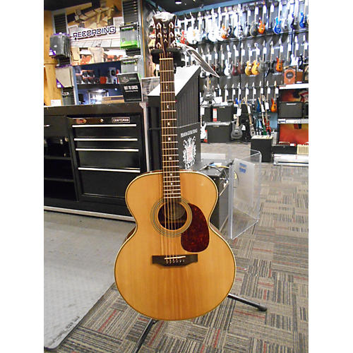 In Store Used AMJ100 Natural Acoustic Electric Guitar-thumbnail