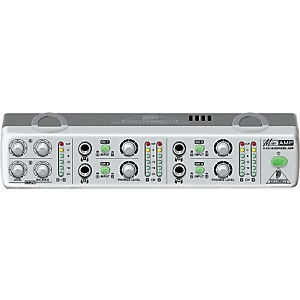 Behringer AMP800 MiniAMP 4-Channel Stereo Headphone Amplifier by Behringer