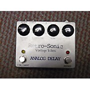 Retro-Sonic ANALOG DELAY Effect Pedal