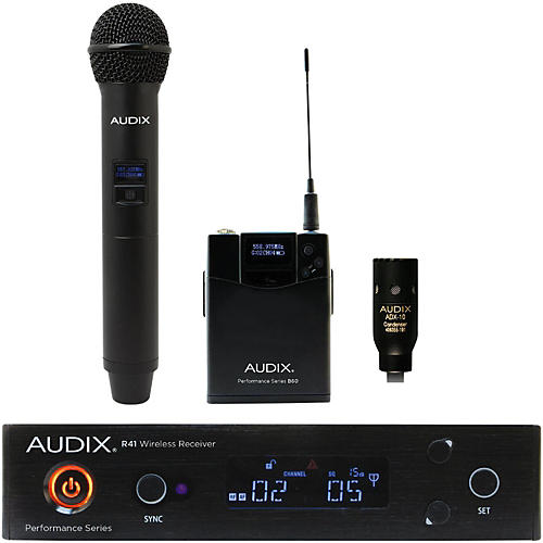 Audix AP41 OM2 L10 Lavalier Wireless System-thumbnail