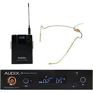 Audix AP41HT5BG Headset Wireless system w/ HT5 Omni Condenser Microphone - Beige by Audix