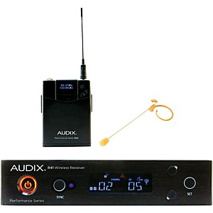 Audix AP41HT7BG Headset Wireless system w/ HT7 Omni Condenser Microphone - Beige by Audix