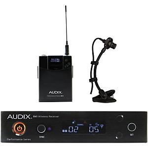 Audix AP41SAX Instrument Wireless System w/ ADX20i Clip-On Instrument Conde... by Audix