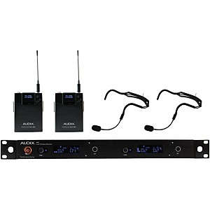 Audix AP42 HT2 Dual Headset Wireless System by Audix