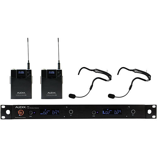 Audix AP42 HT2 Dual Headset Wireless System 554-586 MHz