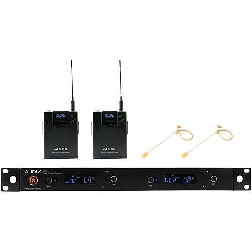 Audix AP42 HT7BG Dual Headset Wireless System - Beige