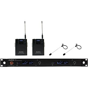 Audix AP42HT7 Dual Headset Wireless system w/ HT7 Omni Condenser mic by Audix