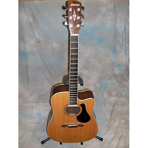 Alvarez AP610 Parlor Acoustic Electric Guitar-thumbnail