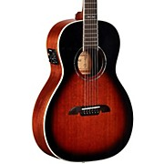 AP66E Parlor Acoustic-Electric Guitar