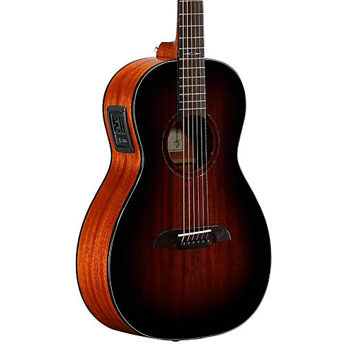 Alvarez AP66ESHB Parlor Acoustic-Electric Guitar-thumbnail