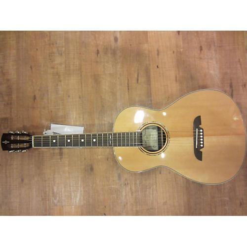 Alvarez AP70L Parlor Left Handed Natural Acoustic Guitar