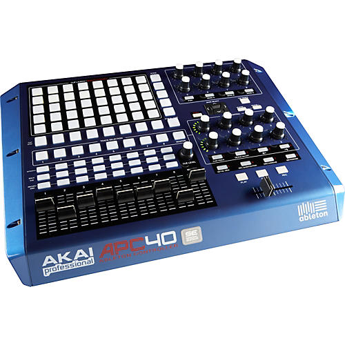 Akai Professional APC40 Ableton Performance Controller - Limited Edition Blue