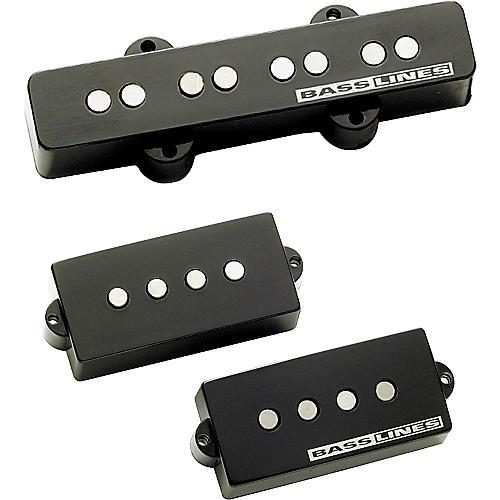 Basslines APJ-2 Lightnin' Rods Electric Bass Pickup Set-thumbnail