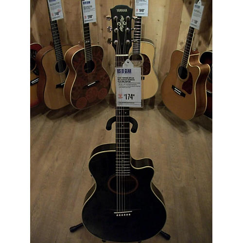 used yamaha apx 4a acoustic electric guitar guitar center. Black Bedroom Furniture Sets. Home Design Ideas