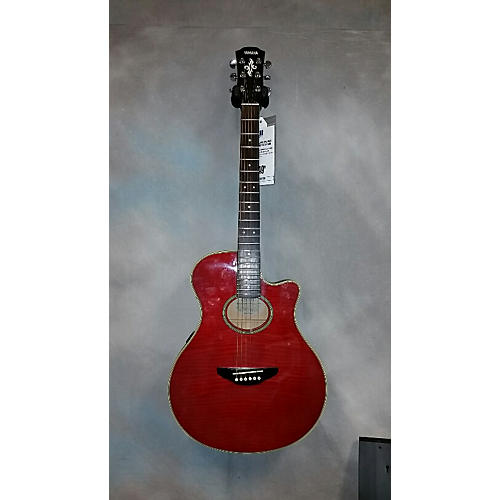 Yamaha APX SPLI Acoustic Electric Guitar Red