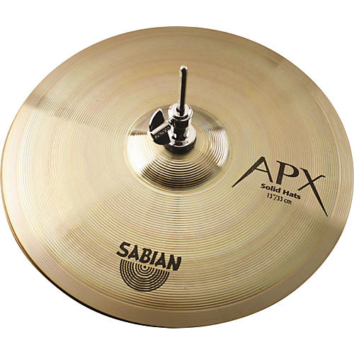 Sabian APX Solid Hi-Hat Cymbal Pair 13 in.